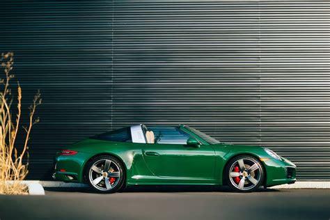 silver porsche gt3 eye candy irish green porsche 991 targa