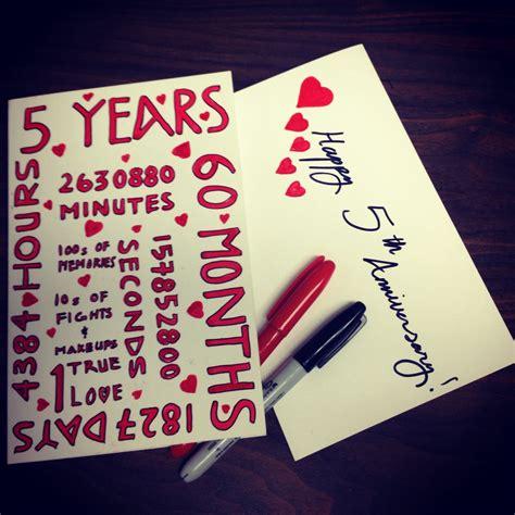 year anniversary card  cardlikeyoucare
