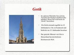 Merkmale Der Gotik : romanik gotik ~ Lizthompson.info Haus und Dekorationen