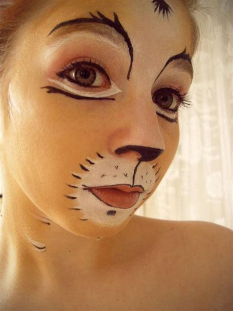 cat makeup paint face fav images