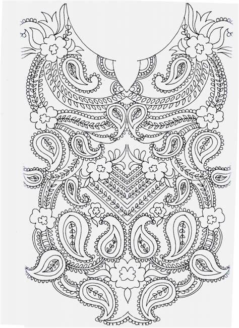 hand embroidery designs  kurtis neck simple craft ideas