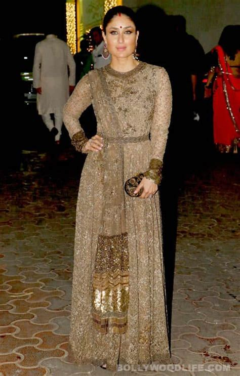 Former miss universe, sushmita sen clad in a short gray tube dress, messed it up when her dress went up a few inches, revealing her und. Kareena Kapoor Khan turns fashion guru for this wedding ...