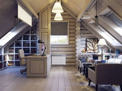 european style life  wooden house interior home