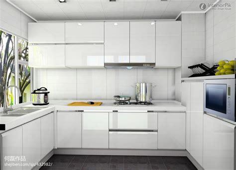 White Modern Kitchen Cabinets Ideas-interior Decorating