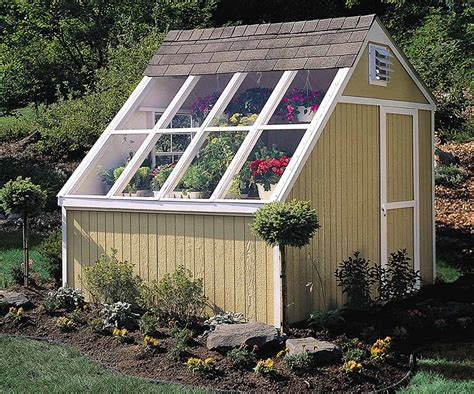 potting shed kit backyard greenhouse ideas diy kits designs