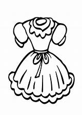 Coloring Doll Printable Clothes Clothing Dresses Clipart Cartoon Clipartmag Ages Clip Coloing Flower sketch template