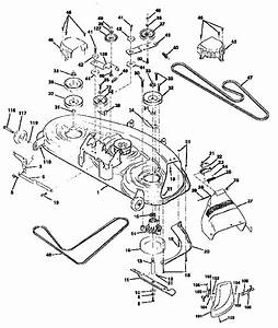 Mower Deck Diagram  U0026 Parts List For Model 917258871