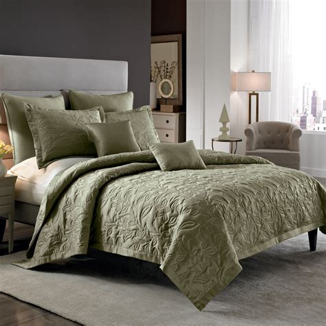 Coverlet And Duvet by Miller Silver Coverlet From