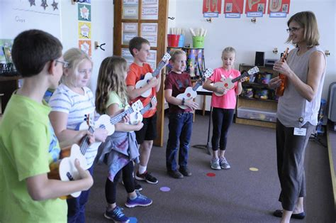 Top 5 easy pop ukulele songs. No strings attached: Cato-Meridian music teacher wins 40 ukuleles for school district ...