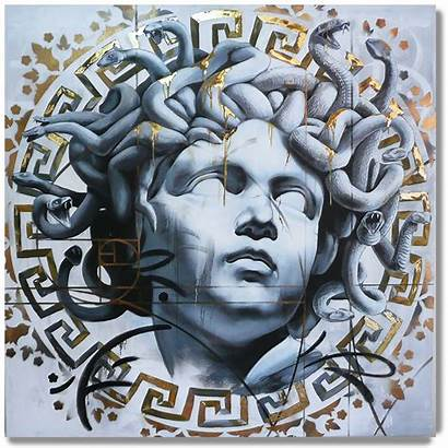 Medusa Danny Versace Paintings Doya Tattoos Painting