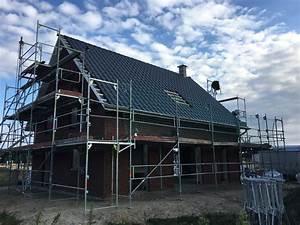 Ich Will Ein Haus Bauen : das dach ist drauf wir bauen ein haus ~ Markanthonyermac.com Haus und Dekorationen
