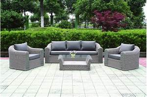Canapé Jardin Pas Cher : salon de jardin cdiscount royal sofa id e de canap et ~ Premium-room.com Idées de Décoration