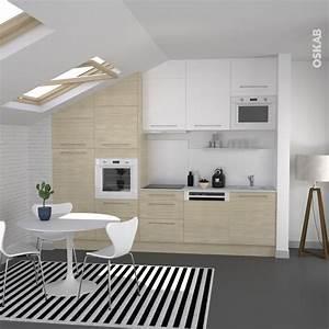Idee relooking cuisine petite cuisine au style for Idee deco cuisine avec meuble scandinave bois et blanc