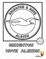 Soccer Coloring Football Brighton Colouring Albion Hove Fc Explosive Printables Yescoloring sketch template