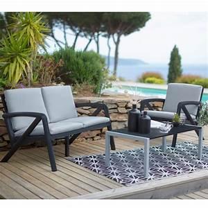 Salon De Jardin Lounge Sunday Barcelone Design GROSFILLEX