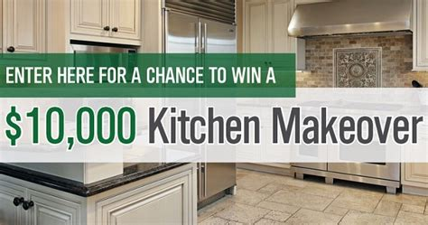 free kitchen makeover contest free kitchen makeovers sweepstakes wow 3562