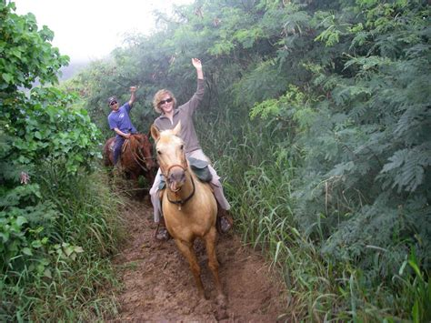 kauai riding horseback hawaii 2009 sue 14t09 3rd january comments