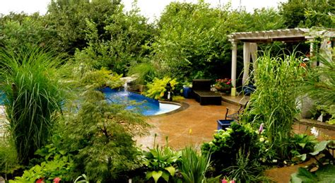 Custom Rugs Toronto by Garden Design Tropical Pool Toronto By Beenu