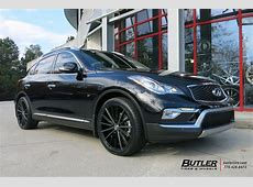Infiniti QX50 with 20in Lexani Pegasus Wheels exclusively