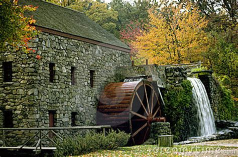 fall mill royalty  stock photography image