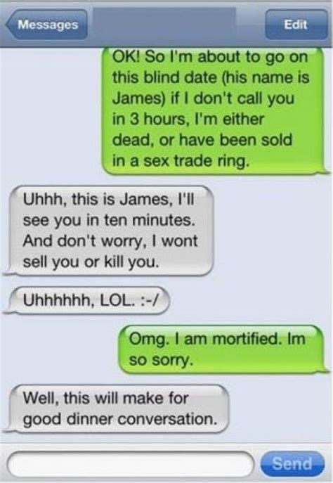 how to go to beginning of text messages on iphone blind date leads to hilarious misunderstanding text