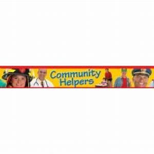 Borders- Community Helpers - Borders & Bordettes - Paper ...