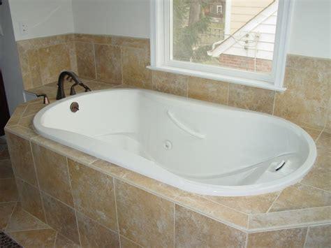bathroom setting ideas drop in bathtub tile ideas with tub corner excerpt