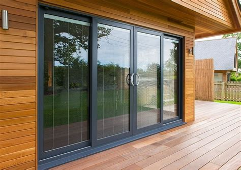 double track patio doors  glass