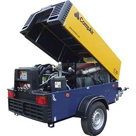 compair  cfm portable compressor sunshine coast jc hire