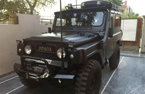 indian army jeep modified 7 cars for 7 decades of indian republic days features
