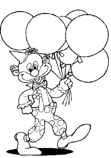 Printable Coloring Pages by Circus Coloring Pages Birthday Printable