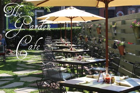 Enjoy a lovely ombiyonce of garden style café with amazing beverages and delectable treats. The Garden Cafe is Back! | The Portland Regency Hotel & Spa