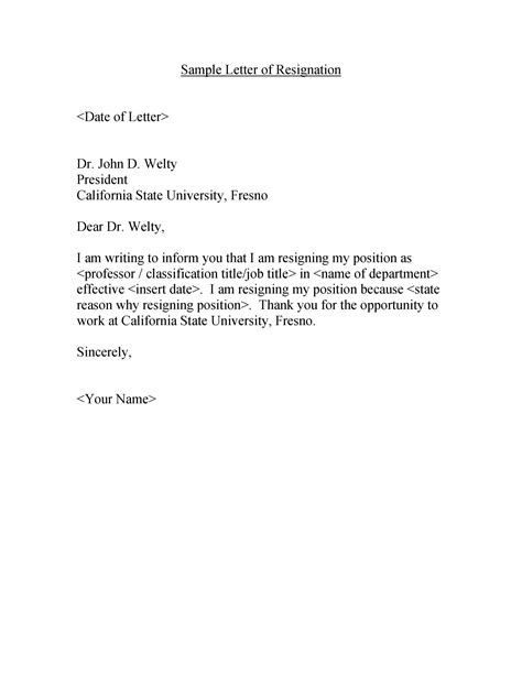 How To Write A Letter Of Resignation For A Job You Just Started - Bangmuin Image Josh