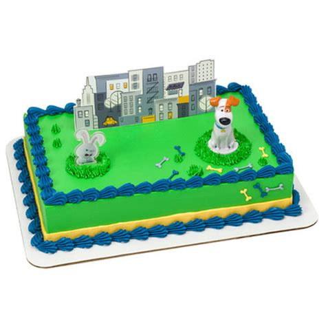 secret life  pets max snowball cake decorating