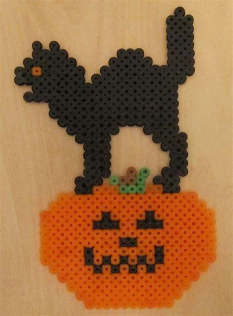 Halloween Perler Bead Projects by 25 Unique Hama Beads Halloween Ideas On Pinterest
