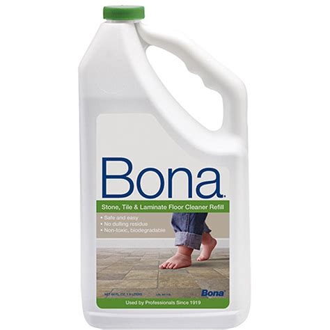 bona laminate floor cleaner bona swedish formula stone tile laminate floor cleaner 64 oz walmart com