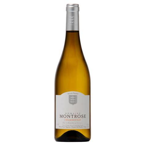 vin blanc sec chardonnay c 244 tes de thongue igp domaine de montrose