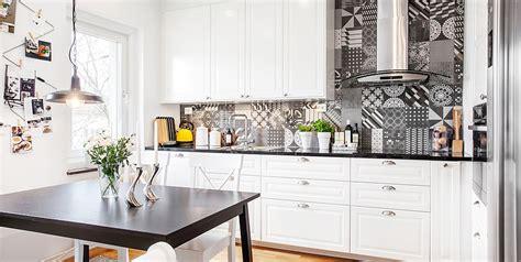 carreaux de cuisine cuisine moderne grise et et blanche