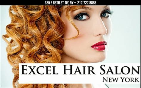 Exle Hair excel hair salon manhattan east side ny 10028