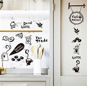 waterproof removable vinyl kitchen tools wall sticker With kitchen cabinets lowes with removable vinyl wall art decals stickers