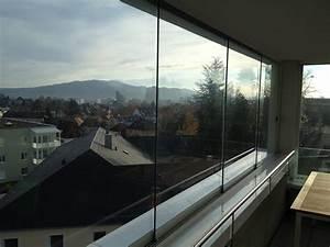 Schiebefenster Für Balkon : rahmenlose schiebefenster f r balkon ungetr bte blicke ~ Watch28wear.com Haus und Dekorationen