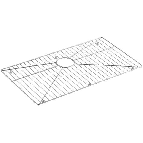 kohler strive sink 29 kohler vault strive stainless steel sink rack 29 1 4 quot x