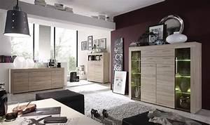 buffet de salle a manger moderne avec 4 tiroirs With meuble salon moderne design 4 etagare design coloris noir caly bibliothaque et etagare