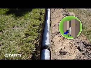 Easy Flow Drainage : french drain installation for the professional nds ezflow how to save money and do it yourself ~ Frokenaadalensverden.com Haus und Dekorationen