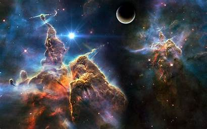 Space Nebula Planet Wallpapers Stars Surreal Abstract