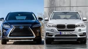 Lexus RX 450h 2016 vs BMW X5 xDrive40e - YouTube
