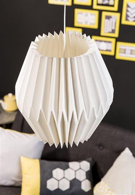 abat jour origami diy fabriquer un abat jour origami cultura