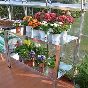 Etagere Pour Serre : table de culture pour serres en acier galvanis plantes ~ Premium-room.com Idées de Décoration