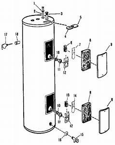 Rheem 81kr40 Electric Water Heater Parts