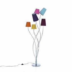 Alinea Luminaire Salon : artifice lampadaire multicolore en acier 6 lumi res h160cm luminaire salon alin a et artifice ~ Teatrodelosmanantiales.com Idées de Décoration